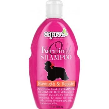 Espree / Эспри Шампунь для укрепления шерсти с кератином для собак. Keratin Oil Shampoo, 502 мл