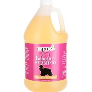 Espree / Эспри Шампунь для укрепления шерсти с кератином для собак. Keratin Oil Shampoo, 3790 мл