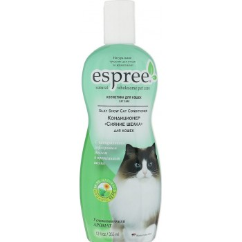 Espree / Эспри Кондиционер  «Сияние шелка», для кошек. Silky Show Cat Conditioner, 355 мл