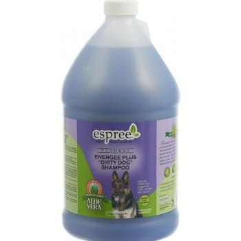 """Espree / Эспри Шампунь «Ароматный гранат» для сильнозагрязненной шерсти собак и кошек. Energee Plus """"Dirty Dog"""" Shampoo, 3790 мл"""