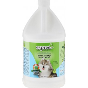 Espree / Эспри Средство для ухода за шерстью в период линьки, для собак CR Simple Shed Treatment, 3780 мл