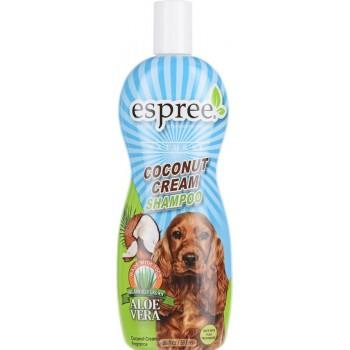 """Espree / Эспри Шампунь питательный """"Кокосовый крем"""", для собак Coconut Cream Shampoo 591 мл"""