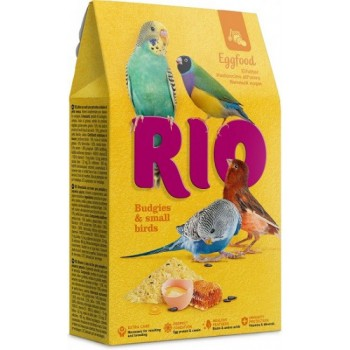 РИО Яичный корм для волнистых попугайчиков и других мелких птиц, 250 гр