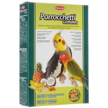 Padovan / Падован Grandmix Parrocchetti корм для средних попугаев основной, 850 гр