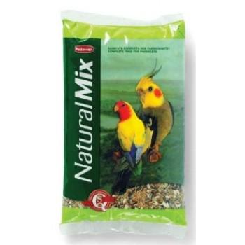 Padovan / Падован Naturalmix parrocchetti корм для средних попугаев основной, 850 гр