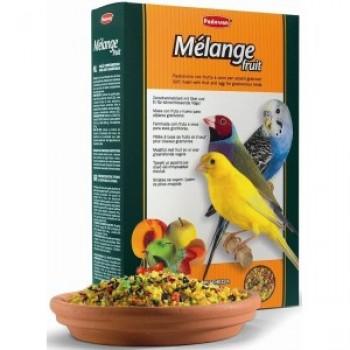 Padovan / Падован Melange Fruit корм лакомый нежный фруктово-яичный для декоративных и экзотических птиц при смене оперения, 300 гр