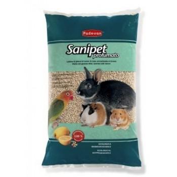 Padovan / Падован Sanipet Profumato наполнитель для грызунов кукурузные гранулы, 4 л