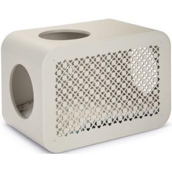 Beeztees / Бизтис 402010 Дом-Куб д/кошки для сна светло-серый 49*29*33см
