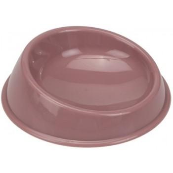 Beeztees / Бизтис 650172 Миска д/кошек пластиковая розовая 15см