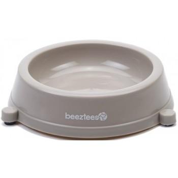 Beeztees / Бизтис 650199 Миска д/кошек пластиковая нескользящая бежевая 200мл