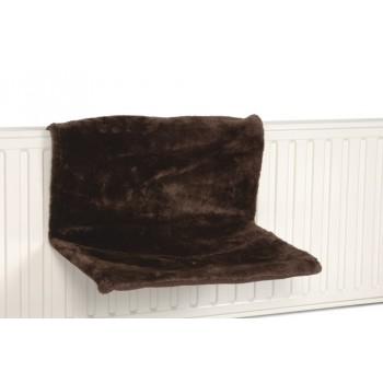 Beeztees / Бизтис 405291 Гамак д/кошки на радиатор, коричневый 46*31*24см