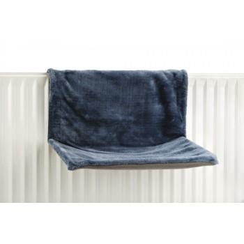 Beeztees / Бизтис 405302 Гамак д/кошки на радиатор, голубой 46*31*24см