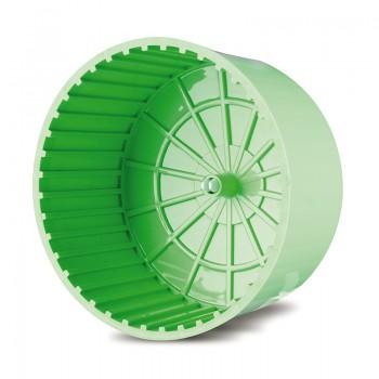 Imac / Имак колесо д/грызунов пластм. RUOTA CHIUSA, цвет салатовый, 15х10см