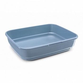 Imac / Имак туалет д/кошек FELIX, пепельно-синий, 49,5х39х12 см
