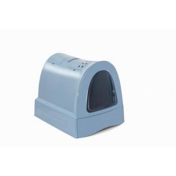 Imac / Имак туалет д/кошек закрытый ZUMA, пепельно-синий, 40х56х42,5 см
