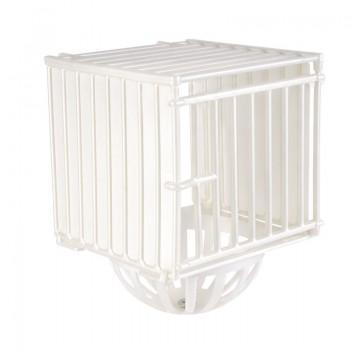 Imac / Имак гнездо д/птиц NIDO PLASTICA, закрытое, подвесное, белый, 12х11,5х16 см