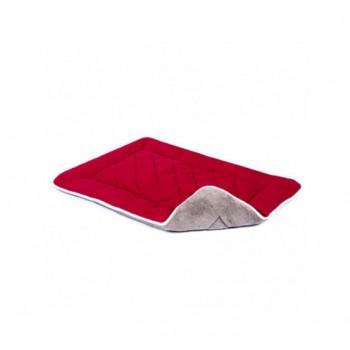 Dog Gone Smart / Дог Гон Смарт Нано подстилка с меховой отделкой Sleeper Cushion M, 53*76 см, вишнёвый