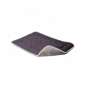 Dog Gone Smart / Дог Гон Смарт Нано подстилка с меховой отделкой Sleeper Cushion M, 53*76 см, тёмно-серый