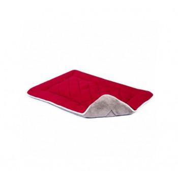 Dog Gone Smart / Дог Гон Смарт Нано подстилка с меховой отделкой Sleeper Cushion S, 48*61 см, вишнёвый