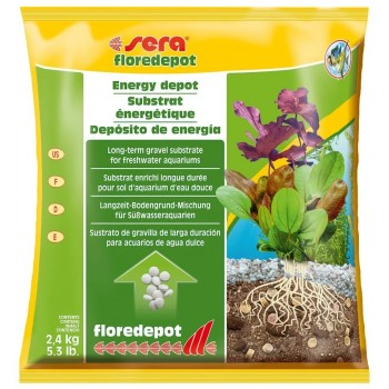 Sera / Сера Грунт для растений FLOREDEPOT 2,4 кг /пакет/
