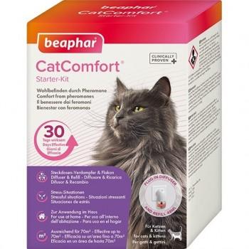 Beaphar / Беафар Cat Comfort набор: диффузор со сменным блоком, 48 мл