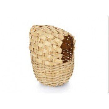 Beeztees / Бизтис 035533 Гнездо д/птиц плетеное закрытое 13*16 см