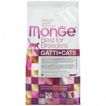 Monge / Монж PFB Cat Monoprotein Sterilised корм для стерилизованных кошек с уткой 10 кг
