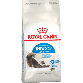 Royal Canin / Роял Канин Indoor Long Hair для домашних длинношерстных кошек, 400 гр
