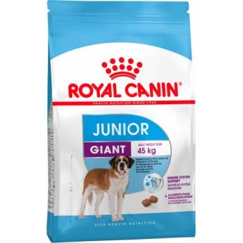 Royal Canin / Роял Канин Giant Junior для щенков с 8 до 18/24 месяцев, 15 кг