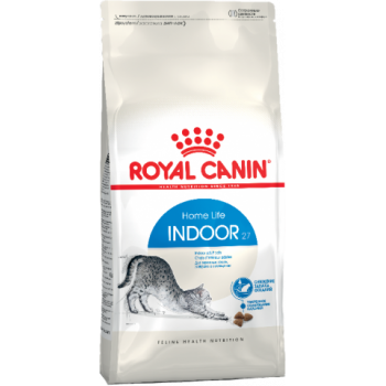 Royal Canin / Роял Канин Indoor 27 для кошек от 1 до 7 лет, живущих в помещении, 10 кг