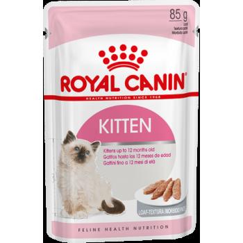 Royal Canin / Роял Канин Kitten Musse для котят в возрасте до 12 месяцев паштет, 85 гр