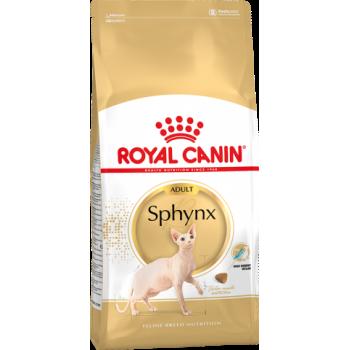 Royal Canin / Роял Канин Sphynx для кошек породы сфинкс старше 12 месяцев 400 г