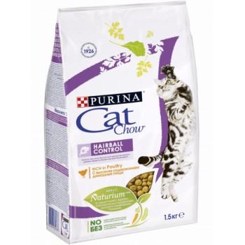 """Cat Chow / Кэт Чоу """"Special Care"""" сухой для Кошек Контроль шерсти 7 кг"""