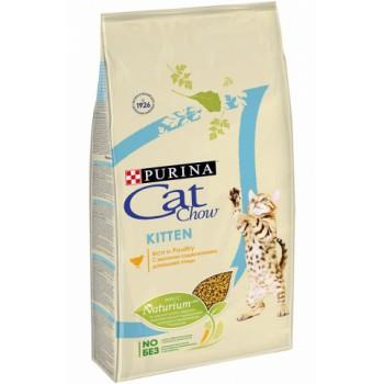 "Cat Chow / Кэт Чоу ""Kitten"" сухой для Котят Курица 7 кг"