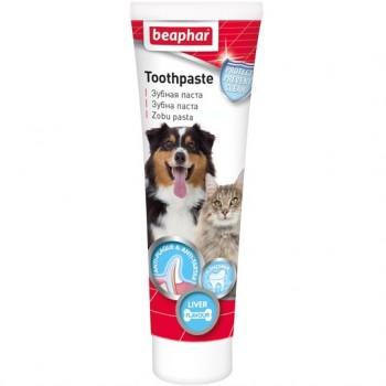 Beaphar / Беафар Зубная паста со вкусом печени д/кошек и собак, 100 гр