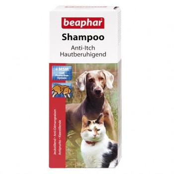 Beaphar / Беафар Шампунь д/кошек и собак против зуда, 200 мл