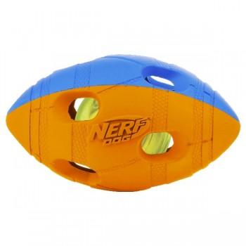 Nerf / Нёрф Мяч гандбольный двухцветный светящийся, 13 см