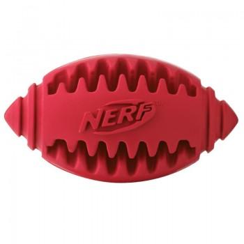 Nerf / Нёрф Игрушка для собак Мяч для регби рифленый, 8 см
