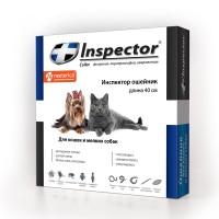 Inspector / Инспектор ошейник от внеш. и внутр. паразитов для кошек и мелких собак 40 см
