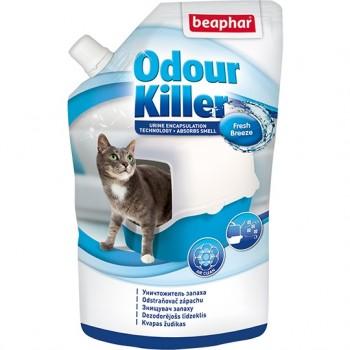 Beaphar / Беафар Уничтожитель запаха «Odour killer» для туалетов д/кошек, 400 гр