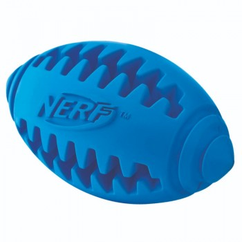 Nerf / Нёрф Игрушка для собак Мяч для регби рифленый, 12,5 см