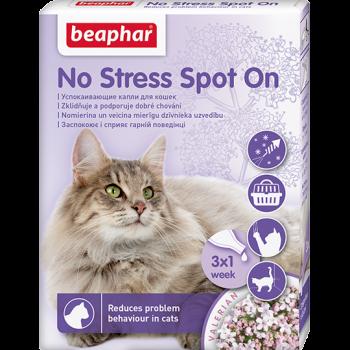 Beaphar / Беафар успокаивающие капли No Stress Spot On для кошек, 3 пип.