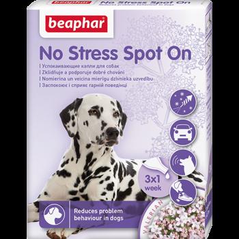 Beaphar / Беафар успокаивающие капли No Stress Spot On для собак, 3 пип.