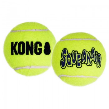 """Kong / Конг игрушка для собак Air """"Теннисный мяч"""" средний (в упаковке 3 шт.) 6 см"""