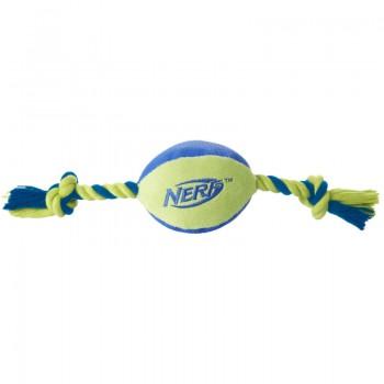 Nerf / Нёрф Мяч плюшевый с веревками, 37,5 см