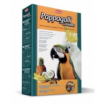 Padovan / Падован Grandmix Pappagalli корм для крупных попугаев основной, 600 гр