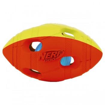Nerf / Нёрф Мяч гандбольный двухцветный светящийся, 10 см