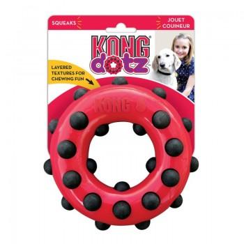 Kong / Конг игрушка для собак Dotz кольцо малое 9 см