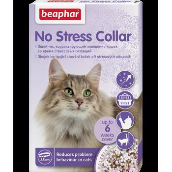 Beaphar / Беафар успокаивающий ошейник No Stress Collar для кошек, 35 см