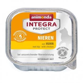 Animonda / Анимонда Консервы Integra для взрослых кошек при почечной недостаточности с курицей (Renal), 100 гр